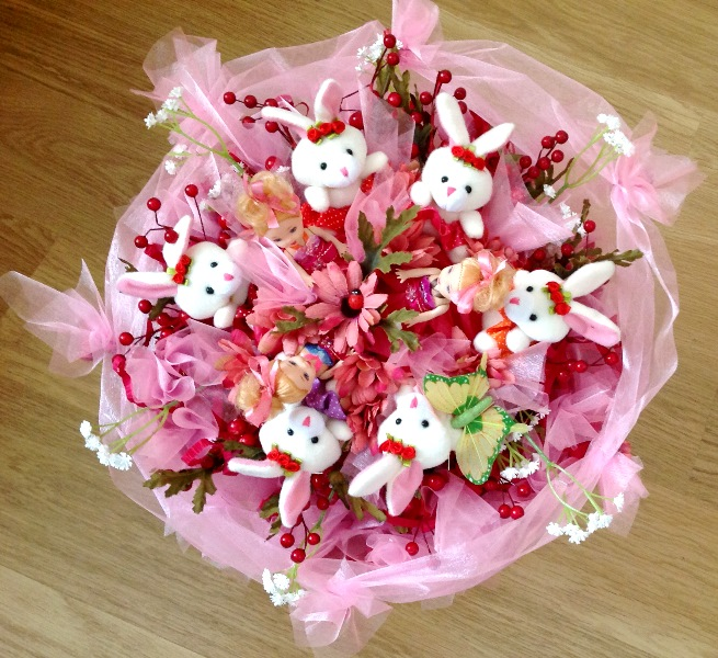 Цветы для украшений своими руками