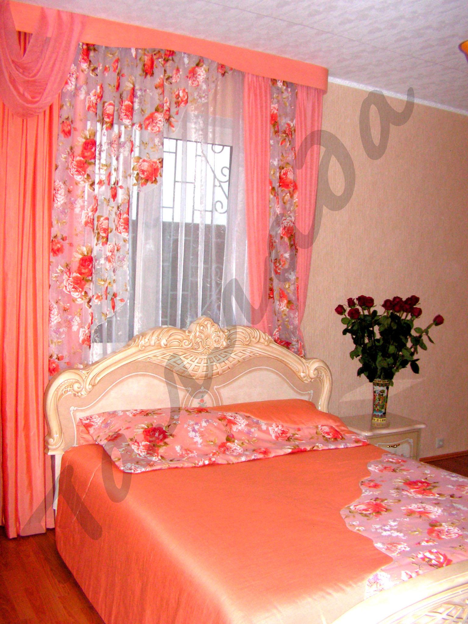Сшить самому шторы для спальни фото