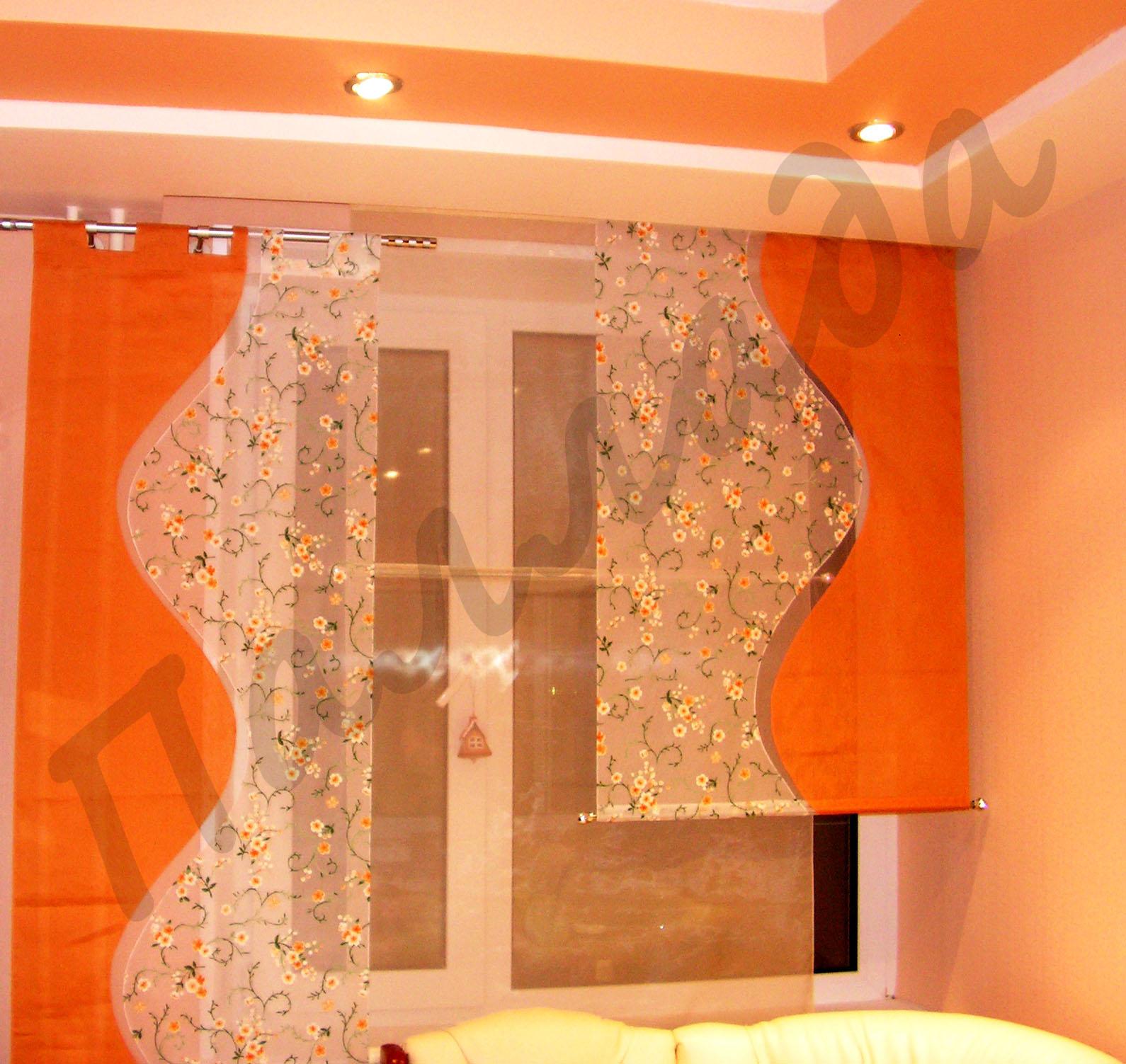 Эксклюзивные шторы для кухни фото
