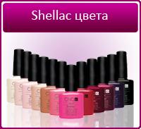Shellac цвета