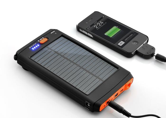 Зарядное устройство на солнечных