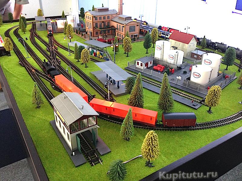 Макет железная дорога своими руками