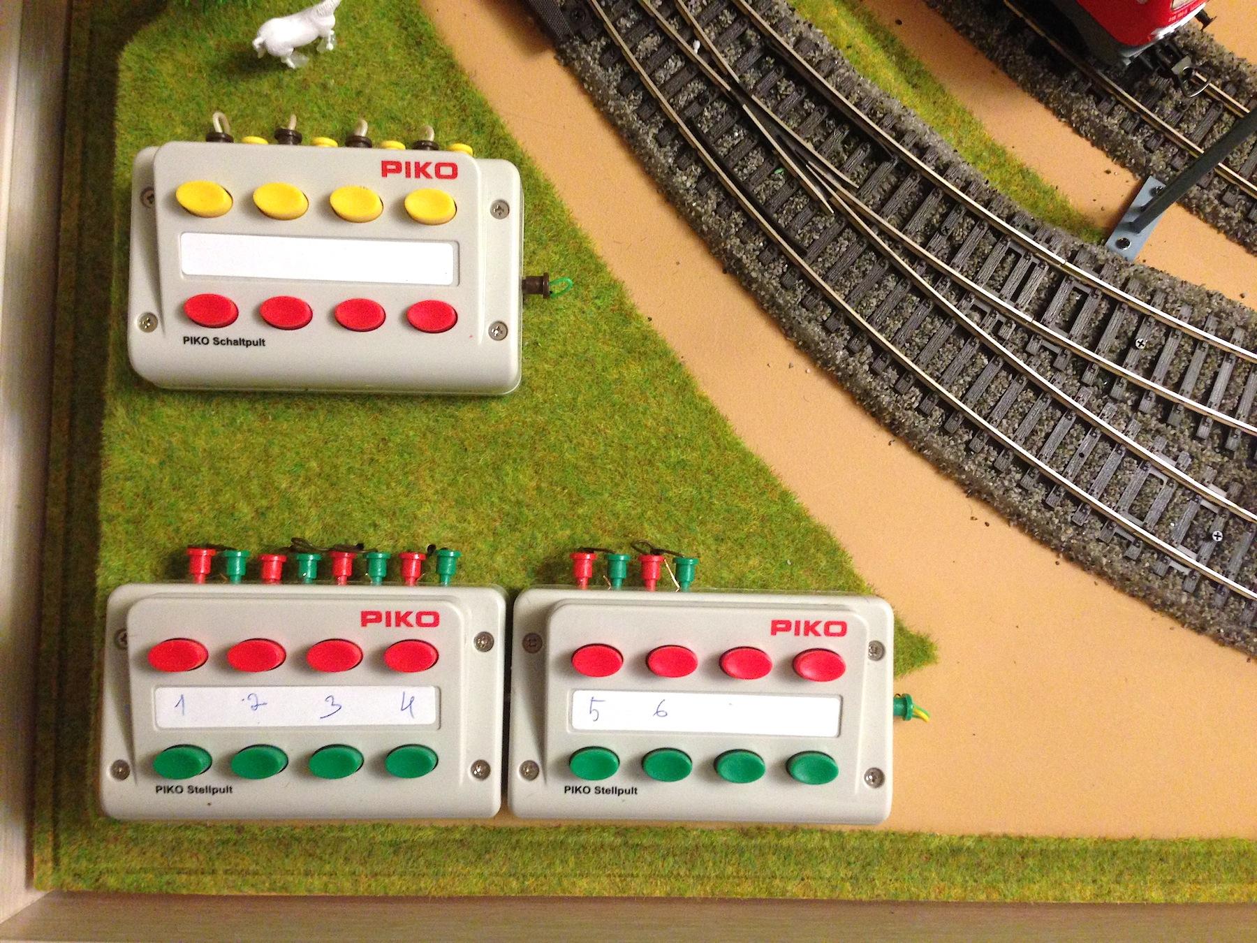 Макет железная дорога piko своими руками