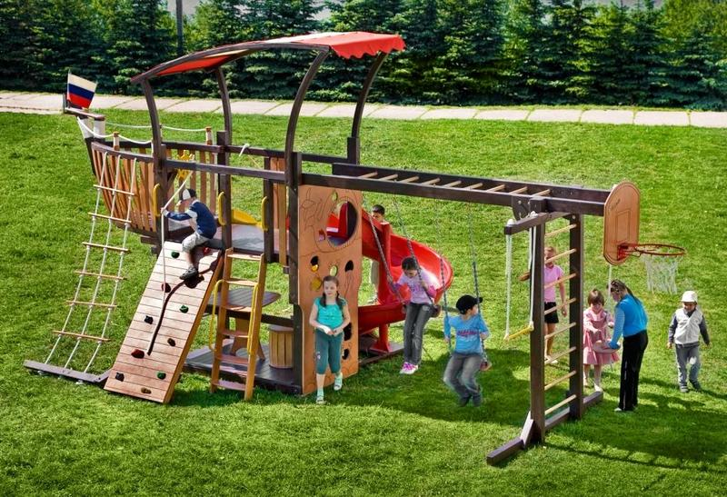 Детские городки для дачи