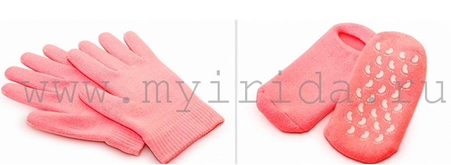 спа перчатки и носки с гелевой пропиткой