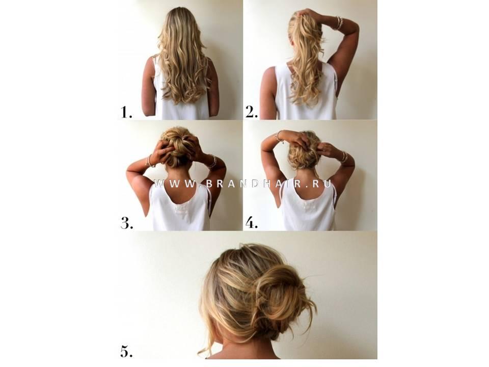 Забрать волосы своими руками 29