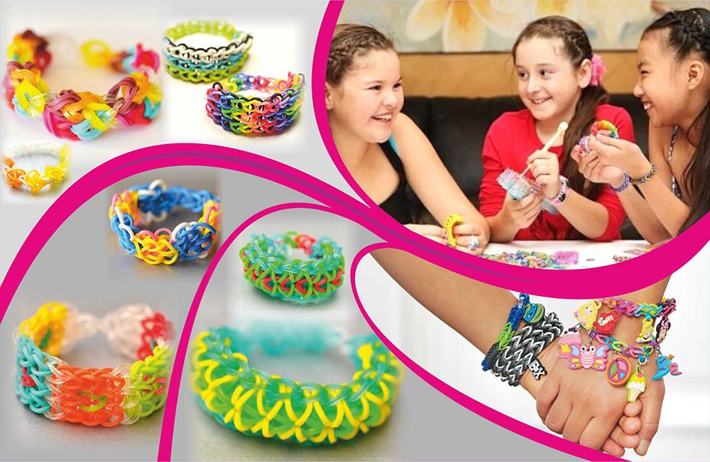 Творчество плетение браслетов