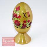 Сувенирное яйцо с инкрустацией
