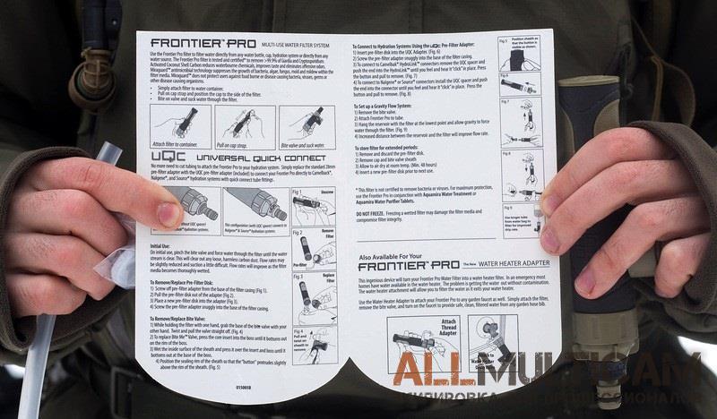 Обзор фильтра Aquamira Frontier Pro