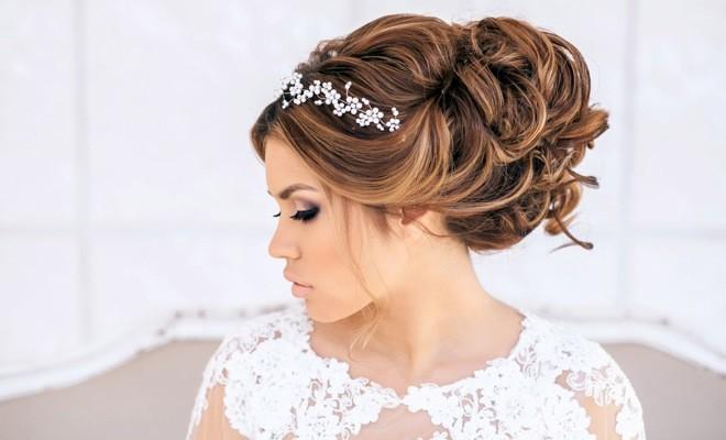 греческие прически на свадьбу