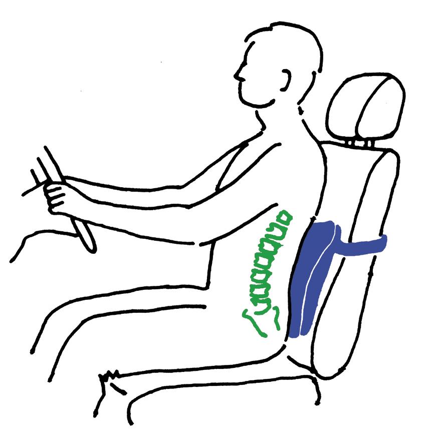 Ортопедическая подушка для спины своими руками