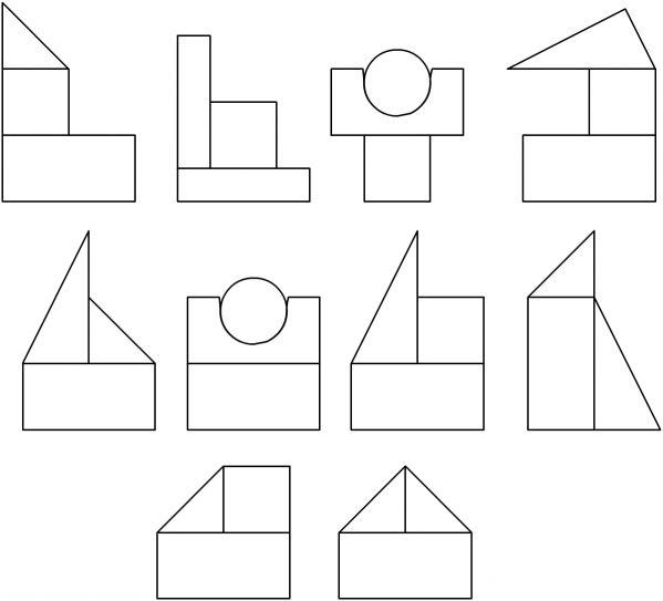 элементарные постройки по