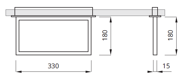 Размер для светодиодного