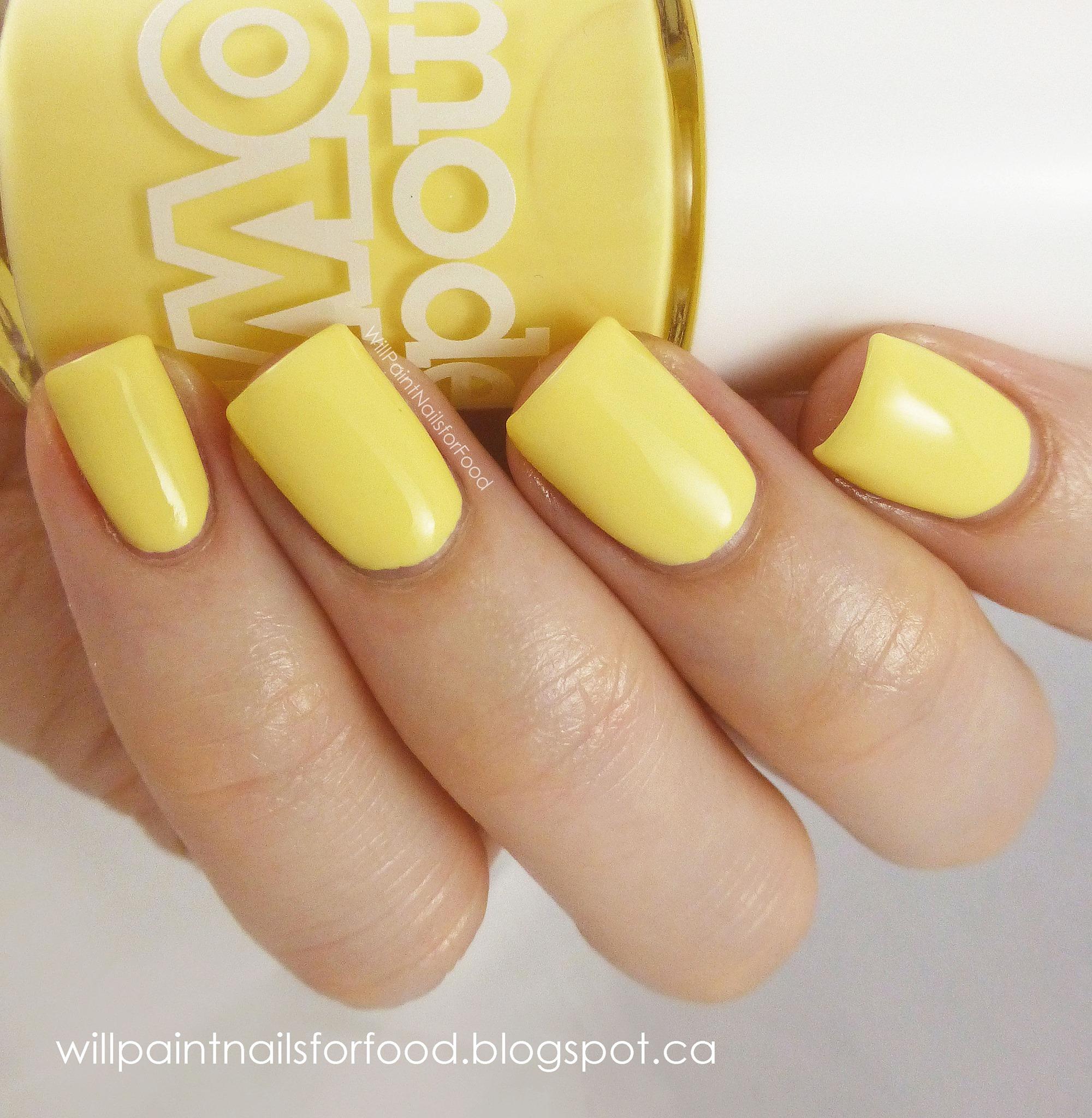 Желтые тона фото ногти