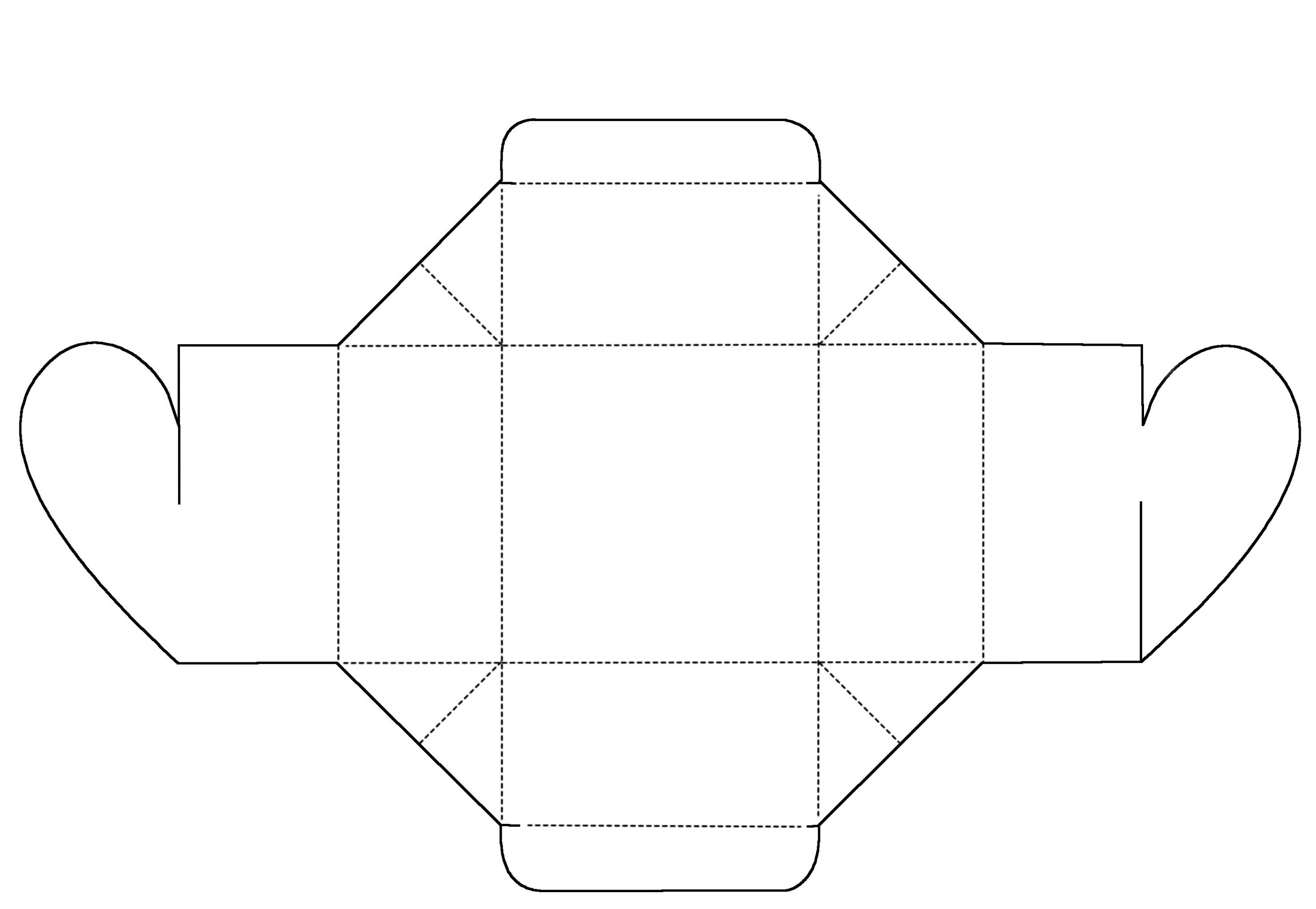 Коробочка для подарков своими руками из бумаги или картона: шаблоны и схемы 90
