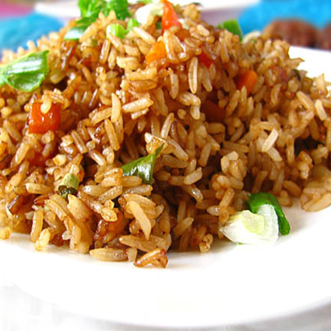 Китайский рис с овощами рецепт