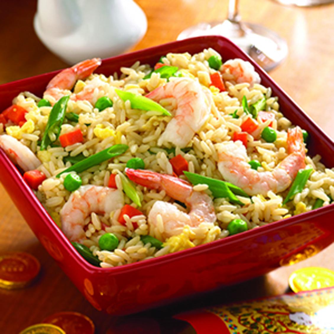 Рецепты блюд из риса с морепродуктами