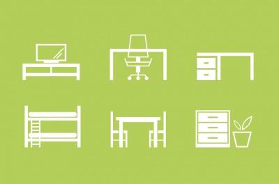 Иконки категорий мебели на сайте