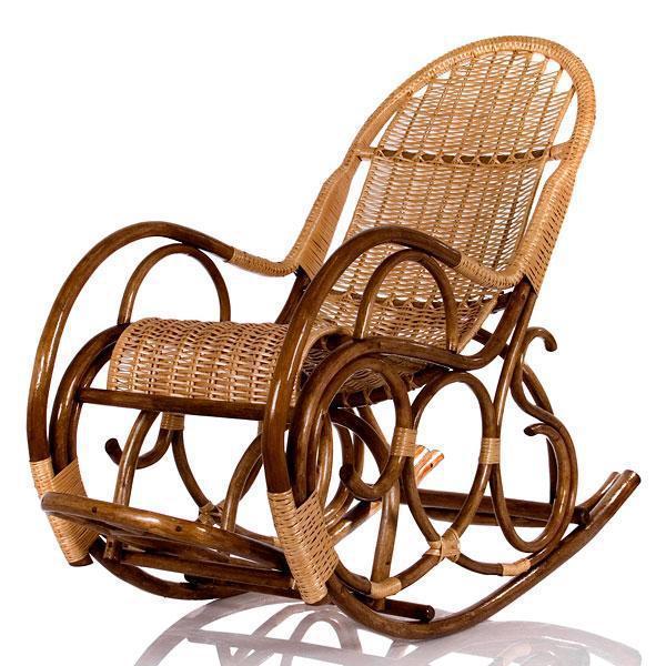 Кресла качалки из лозы своими руками