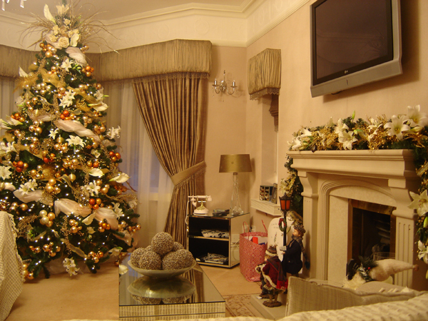 Квартира на новый год 2018