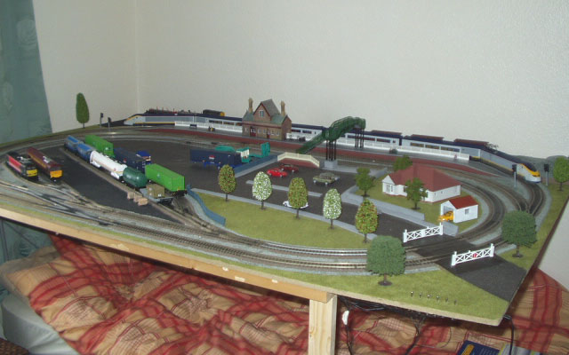 макета железнодорожный
