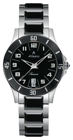 Atlantic 92345.53.63 - женские наручные часы из коллекции SearamicAtlantic<br><br><br>Бренд: Atlantic<br>Модель: Atlantic 92345.53.63<br>Артикул: 92345.53.63<br>Вариант артикула: None<br>Коллекция: Searamic<br>Подколлекция: None<br>Страна: Швейцария<br>Пол: женские<br>Тип механизма: кварцевые<br>Механизм: Ronda 705<br>Количество камней: None<br>Автоподзавод: None<br>Источник энергии: от батарейки<br>Срок службы элемента питания: None<br>Дисплей: стрелки<br>Цифры: арабские<br>Водозащита: WR 30<br>Противоударные: None<br>Материал корпуса: нерж. сталь + керамика<br>Материал браслета: нерж. сталь + керамика<br>Материал безеля: None<br>Стекло: минеральное<br>Антибликовое покрытие: None<br>Цвет корпуса: None<br>Цвет браслета: None<br>Цвет циферблата: None<br>Цвет безеля: None<br>Размеры: 34 мм<br>Диаметр: None<br>Диаметр корпуса: None<br>Толщина: None<br>Ширина ремешка: None<br>Вес: None<br>Спорт-функции: None<br>Подсветка: стрелок<br>Вставка: None<br>Отображение даты: число<br>Хронограф: None<br>Таймер: None<br>Термометр: None<br>Хронометр: None<br>GPS: None<br>Радиосинхронизация: None<br>Барометр: None<br>Скелетон: None<br>Дополнительная информация: None<br>Дополнительные функции: None
