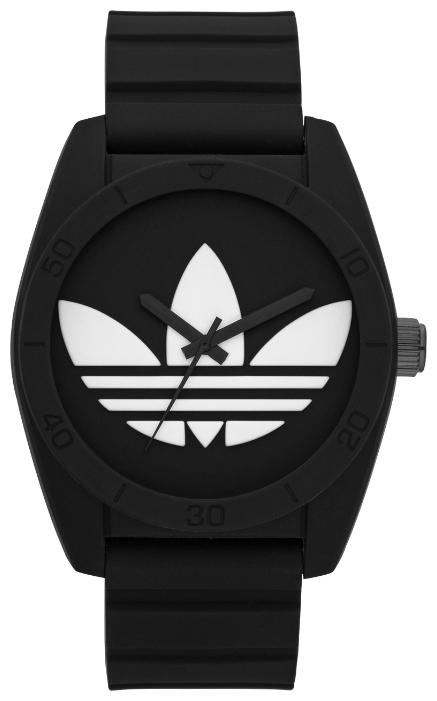 Adidas ADH6167 - унисекс наручные часы из коллекции SantiagoAdidas<br><br><br>Бренд: Adidas<br>Модель: Adidas ADH6167<br>Артикул: ADH6167<br>Вариант артикула: None<br>Коллекция: Santiago<br>Подколлекция: None<br>Страна: Германия<br>Пол: унисекс<br>Тип механизма: кварцевые<br>Механизм: None<br>Количество камней: None<br>Автоподзавод: None<br>Источник энергии: от батарейки<br>Срок службы элемента питания: None<br>Дисплей: стрелки<br>Цифры: отсутствуют<br>Водозащита: WR 50<br>Противоударные: None<br>Материал корпуса: пластик<br>Материал браслета: пластик<br>Материал безеля: None<br>Стекло: минеральное<br>Антибликовое покрытие: None<br>Цвет корпуса: None<br>Цвет браслета: None<br>Цвет циферблата: None<br>Цвет безеля: None<br>Размеры: 42 мм<br>Диаметр: None<br>Диаметр корпуса: None<br>Толщина: None<br>Ширина ремешка: None<br>Вес: None<br>Спорт-функции: None<br>Подсветка: None<br>Вставка: None<br>Отображение даты: None<br>Хронограф: None<br>Таймер: None<br>Термометр: None<br>Хронометр: None<br>GPS: None<br>Радиосинхронизация: None<br>Барометр: None<br>Скелетон: None<br>Дополнительная информация: None<br>Дополнительные функции: None