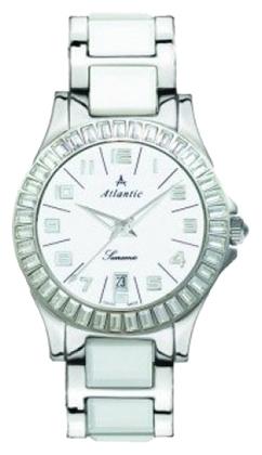 Atlantic 92345.52.15 - женские наручные часы из коллекции SearamicAtlantic<br><br><br>Бренд: Atlantic<br>Модель: Atlantic 92345.52.15<br>Артикул: 92345.52.15<br>Вариант артикула: None<br>Коллекция: Searamic<br>Подколлекция: None<br>Страна: Швейцария<br>Пол: женские<br>Тип механизма: кварцевые<br>Механизм: None<br>Количество камней: None<br>Автоподзавод: None<br>Источник энергии: от батарейки<br>Срок службы элемента питания: None<br>Дисплей: стрелки<br>Цифры: арабские<br>Водозащита: WR 30<br>Противоударные: None<br>Материал корпуса: нерж. сталь<br>Материал браслета: нерж. сталь + керамика<br>Материал безеля: None<br>Стекло: минеральное<br>Антибликовое покрытие: None<br>Цвет корпуса: None<br>Цвет браслета: None<br>Цвет циферблата: None<br>Цвет безеля: None<br>Размеры: 34 мм<br>Диаметр: None<br>Диаметр корпуса: None<br>Толщина: None<br>Ширина ремешка: None<br>Вес: None<br>Спорт-функции: None<br>Подсветка: None<br>Вставка: None<br>Отображение даты: число<br>Хронограф: None<br>Таймер: None<br>Термометр: None<br>Хронометр: None<br>GPS: None<br>Радиосинхронизация: None<br>Барометр: None<br>Скелетон: None<br>Дополнительная информация: None<br>Дополнительные функции: None