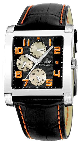 Festina F16235.9 - мужские наручные часы из коллекции MultifunctionFestina<br><br><br>Бренд: Festina<br>Модель: Festina F16235/9<br>Артикул: F16235.9<br>Вариант артикула: None<br>Коллекция: Multifunction<br>Подколлекция: None<br>Страна: Испания<br>Пол: мужские<br>Тип механизма: кварцевые<br>Механизм: None<br>Количество камней: None<br>Автоподзавод: None<br>Источник энергии: None<br>Срок службы элемента питания: None<br>Дисплей: стрелки<br>Цифры: арабские<br>Водозащита: WR 50<br>Противоударные: None<br>Материал корпуса: не указан<br>Материал браслета: кожа<br>Материал безеля: None<br>Стекло: минеральное<br>Антибликовое покрытие: None<br>Цвет корпуса: None<br>Цвет браслета: None<br>Цвет циферблата: None<br>Цвет безеля: None<br>Размеры: 37x37 мм<br>Диаметр: None<br>Диаметр корпуса: None<br>Толщина: None<br>Ширина ремешка: None<br>Вес: None<br>Спорт-функции: None<br>Подсветка: дисплея<br>Вставка: None<br>Отображение даты: день недели<br>Хронограф: None<br>Таймер: None<br>Термометр: None<br>Хронометр: None<br>GPS: None<br>Радиосинхронизация: None<br>Барометр: None<br>Скелетон: None<br>Дополнительная информация: None<br>Дополнительные функции: None