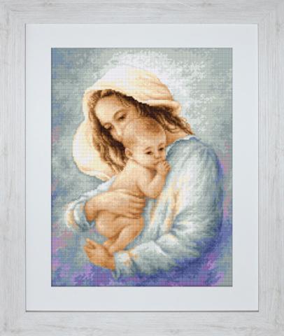 Мать и дитя вышивка лукас 61