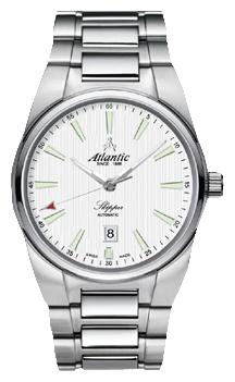 Atlantic 83365.41.11 - мужские наручные часы из коллекции SkipperAtlantic<br><br><br>Бренд: Atlantic<br>Модель: Atlantic 83365.41.11<br>Артикул: 83365.41.11<br>Вариант артикула: None<br>Коллекция: Skipper<br>Подколлекция: None<br>Страна: Швейцария<br>Пол: мужские<br>Тип механизма: кварцевые<br>Механизм: None<br>Количество камней: None<br>Автоподзавод: None<br>Источник энергии: от батарейки<br>Срок службы элемента питания: None<br>Дисплей: стрелки<br>Цифры: отсутствуют<br>Водозащита: WR 100<br>Противоударные: None<br>Материал корпуса: нерж. сталь<br>Материал браслета: нерж. сталь<br>Материал безеля: None<br>Стекло: сапфировое<br>Антибликовое покрытие: None<br>Цвет корпуса: None<br>Цвет браслета: None<br>Цвет циферблата: None<br>Цвет безеля: None<br>Размеры: 41x41 мм<br>Диаметр: None<br>Диаметр корпуса: None<br>Толщина: None<br>Ширина ремешка: None<br>Вес: None<br>Спорт-функции: None<br>Подсветка: стрелок<br>Вставка: None<br>Отображение даты: число<br>Хронограф: None<br>Таймер: None<br>Термометр: None<br>Хронометр: None<br>GPS: None<br>Радиосинхронизация: None<br>Барометр: None<br>Скелетон: None<br>Дополнительная информация: None<br>Дополнительные функции: None