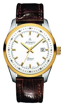 Atlantic 65351.43.21 - мужские наручные часы из коллекции SeamoveAtlantic<br><br><br>Бренд: Atlantic<br>Модель: Atlantic 65351.43.21<br>Артикул: 65351.43.21<br>Вариант артикула: None<br>Коллекция: Seamove<br>Подколлекция: None<br>Страна: Швейцария<br>Пол: мужские<br>Тип механизма: кварцевые<br>Механизм: Ronda 715<br>Количество камней: None<br>Автоподзавод: None<br>Источник энергии: от батарейки<br>Срок службы элемента питания: None<br>Дисплей: стрелки<br>Цифры: отсутствуют<br>Водозащита: WR 50<br>Противоударные: None<br>Материал корпуса: нерж. сталь, PVD покрытие: позолота (частичное)<br>Материал браслета: кожа<br>Материал безеля: None<br>Стекло: сапфировое<br>Антибликовое покрытие: None<br>Цвет корпуса: None<br>Цвет браслета: None<br>Цвет циферблата: None<br>Цвет безеля: None<br>Размеры: 42x11 мм<br>Диаметр: None<br>Диаметр корпуса: None<br>Толщина: None<br>Ширина ремешка: None<br>Вес: None<br>Спорт-функции: None<br>Подсветка: стрелок<br>Вставка: None<br>Отображение даты: число<br>Хронограф: None<br>Таймер: None<br>Термометр: None<br>Хронометр: None<br>GPS: None<br>Радиосинхронизация: None<br>Барометр: None<br>Скелетон: None<br>Дополнительная информация: None<br>Дополнительные функции: None