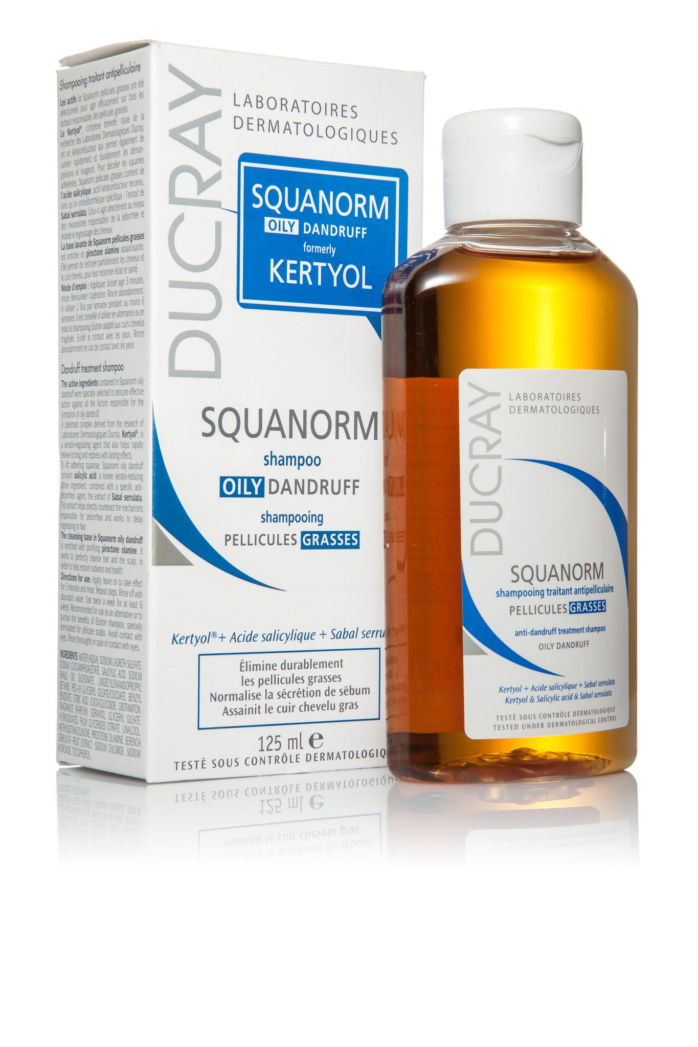 Squanorm шампунь от жирной перхоти 125 мл