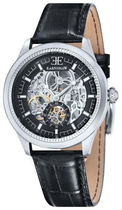 Thomas Earnshaw ES-8039-01 - мужские наручные часы из коллекции AcademyThomas Earnshaw<br><br><br>Бренд: Thomas Earnshaw<br>Модель: Thomas Earnshaw ES-8039-01<br>Артикул: ES-8039-01<br>Вариант артикула: None<br>Коллекция: Academy<br>Подколлекция: None<br>Страна: Великобритания<br>Пол: мужские<br>Тип механизма: механические<br>Механизм: None<br>Количество камней: None<br>Автоподзавод: None<br>Источник энергии: пружинный механизм<br>Срок службы элемента питания: None<br>Дисплей: стрелки<br>Цифры: отсутствуют<br>Водозащита: WR 50<br>Противоударные: None<br>Материал корпуса: нерж. сталь<br>Материал браслета: кожа<br>Материал безеля: None<br>Стекло: минеральное/сапфировое<br>Антибликовое покрытие: None<br>Цвет корпуса: None<br>Цвет браслета: None<br>Цвет циферблата: None<br>Цвет безеля: None<br>Размеры: 40 мм<br>Диаметр: None<br>Диаметр корпуса: None<br>Толщина: None<br>Ширина ремешка: None<br>Вес: None<br>Спорт-функции: None<br>Подсветка: None<br>Вставка: None<br>Отображение даты: None<br>Хронограф: None<br>Таймер: None<br>Термометр: None<br>Хронометр: None<br>GPS: None<br>Радиосинхронизация: None<br>Барометр: None<br>Скелетон: да<br>Дополнительная информация: None<br>Дополнительные функции: None