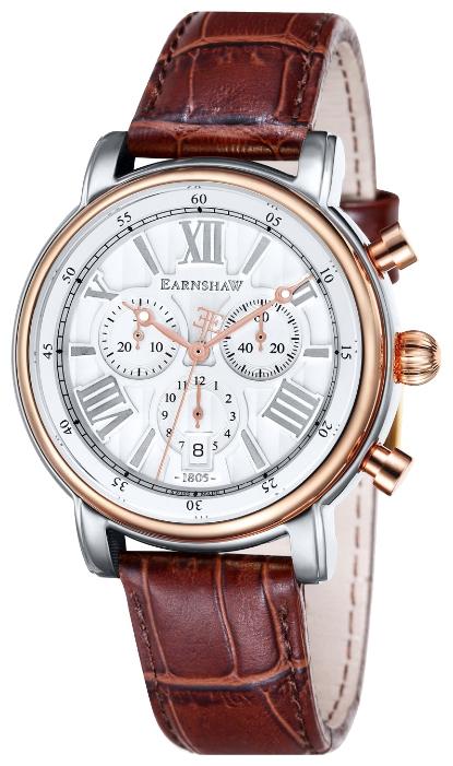 Thomas Earnshaw ES-0016-06 - мужские наручные часы из коллекции LongcaseThomas Earnshaw<br><br><br>Бренд: Thomas Earnshaw<br>Модель: Thomas Earnshaw ES-0016-06<br>Артикул: ES-0016-06<br>Вариант артикула: None<br>Коллекция: Longcase<br>Подколлекция: None<br>Страна: Великобритания<br>Пол: мужские<br>Тип механизма: кварцевые<br>Механизм: None<br>Количество камней: None<br>Автоподзавод: None<br>Источник энергии: от батарейки<br>Срок службы элемента питания: None<br>Дисплей: стрелки<br>Цифры: римские<br>Водозащита: WR 50<br>Противоударные: None<br>Материал корпуса: нерж. сталь, частичное покрытие корпуса<br>Материал браслета: кожа<br>Материал безеля: None<br>Стекло: минеральное<br>Антибликовое покрытие: None<br>Цвет корпуса: None<br>Цвет браслета: None<br>Цвет циферблата: None<br>Цвет безеля: None<br>Размеры: 43 мм<br>Диаметр: None<br>Диаметр корпуса: None<br>Толщина: None<br>Ширина ремешка: None<br>Вес: None<br>Спорт-функции: секундомер<br>Подсветка: стрелок<br>Вставка: None<br>Отображение даты: число<br>Хронограф: есть<br>Таймер: None<br>Термометр: None<br>Хронометр: None<br>GPS: None<br>Радиосинхронизация: None<br>Барометр: None<br>Скелетон: None<br>Дополнительная информация: None<br>Дополнительные функции: None