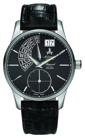 Atlantic 56351.41.61 - мужские наручные часы из коллекции SeaportAtlantic<br><br><br>Бренд: Atlantic<br>Модель: Atlantic 56351.41.61<br>Артикул: 56351.41.61<br>Вариант артикула: None<br>Коллекция: Seaport<br>Подколлекция: None<br>Страна: Швейцария<br>Пол: мужские<br>Тип механизма: кварцевые<br>Механизм: None<br>Количество камней: None<br>Автоподзавод: None<br>Источник энергии: от батарейки<br>Срок службы элемента питания: None<br>Дисплей: стрелки<br>Цифры: отсутствуют<br>Водозащита: WR 50<br>Противоударные: None<br>Материал корпуса: нерж. сталь<br>Материал браслета: кожа<br>Материал безеля: None<br>Стекло: сапфировое<br>Антибликовое покрытие: None<br>Цвет корпуса: None<br>Цвет браслета: None<br>Цвет циферблата: None<br>Цвет безеля: None<br>Размеры: None<br>Диаметр: None<br>Диаметр корпуса: None<br>Толщина: None<br>Ширина ремешка: None<br>Вес: None<br>Спорт-функции: None<br>Подсветка: стрелок<br>Вставка: None<br>Отображение даты: число, день недели<br>Хронограф: None<br>Таймер: None<br>Термометр: None<br>Хронометр: None<br>GPS: None<br>Радиосинхронизация: None<br>Барометр: None<br>Скелетон: None<br>Дополнительная информация: None<br>Дополнительные функции: None