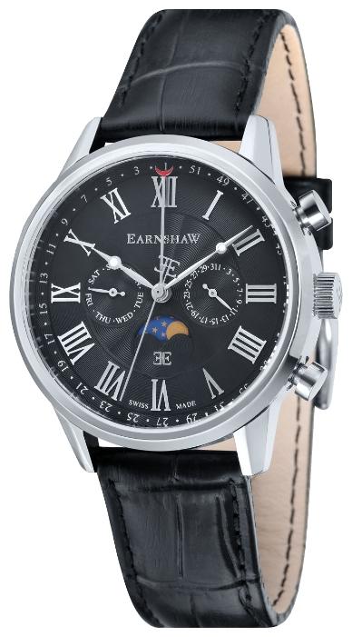 Thomas Earnshaw ES-0017-01 - мужские наручные часы из коллекции OfficerThomas Earnshaw<br><br><br>Бренд: Thomas Earnshaw<br>Модель: Thomas Earnshaw ES-0017-01<br>Артикул: ES-0017-01<br>Вариант артикула: None<br>Коллекция: Officer<br>Подколлекция: None<br>Страна: Великобритания<br>Пол: мужские<br>Тип механизма: кварцевые<br>Механизм: None<br>Количество камней: None<br>Автоподзавод: None<br>Источник энергии: от батарейки<br>Срок службы элемента питания: None<br>Дисплей: стрелки<br>Цифры: римские<br>Водозащита: WR 50<br>Противоударные: None<br>Материал корпуса: нерж. сталь<br>Материал браслета: кожа<br>Материал безеля: None<br>Стекло: минеральное<br>Антибликовое покрытие: None<br>Цвет корпуса: None<br>Цвет браслета: None<br>Цвет циферблата: None<br>Цвет безеля: None<br>Размеры: 41 мм<br>Диаметр: None<br>Диаметр корпуса: None<br>Толщина: None<br>Ширина ремешка: None<br>Вес: None<br>Спорт-функции: None<br>Подсветка: стрелок<br>Вставка: None<br>Отображение даты: число, день недели<br>Хронограф: None<br>Таймер: None<br>Термометр: None<br>Хронометр: None<br>GPS: None<br>Радиосинхронизация: None<br>Барометр: None<br>Скелетон: None<br>Дополнительная информация: None<br>Дополнительные функции: указатель фаз луны