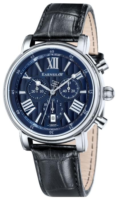 Thomas Earnshaw ES-0016-02 - мужские наручные часы из коллекции LongcaseThomas Earnshaw<br><br><br>Бренд: Thomas Earnshaw<br>Модель: Thomas Earnshaw ES-0016-02<br>Артикул: ES-0016-02<br>Вариант артикула: None<br>Коллекция: Longcase<br>Подколлекция: None<br>Страна: Великобритания<br>Пол: мужские<br>Тип механизма: кварцевые<br>Механизм: None<br>Количество камней: None<br>Автоподзавод: None<br>Источник энергии: от батарейки<br>Срок службы элемента питания: None<br>Дисплей: стрелки<br>Цифры: римские<br>Водозащита: WR 50<br>Противоударные: None<br>Материал корпуса: нерж. сталь<br>Материал браслета: кожа<br>Материал безеля: None<br>Стекло: минеральное<br>Антибликовое покрытие: None<br>Цвет корпуса: None<br>Цвет браслета: None<br>Цвет циферблата: None<br>Цвет безеля: None<br>Размеры: 43 мм<br>Диаметр: None<br>Диаметр корпуса: None<br>Толщина: None<br>Ширина ремешка: None<br>Вес: None<br>Спорт-функции: секундомер<br>Подсветка: стрелок<br>Вставка: None<br>Отображение даты: число<br>Хронограф: есть<br>Таймер: None<br>Термометр: None<br>Хронометр: None<br>GPS: None<br>Радиосинхронизация: None<br>Барометр: None<br>Скелетон: None<br>Дополнительная информация: None<br>Дополнительные функции: None
