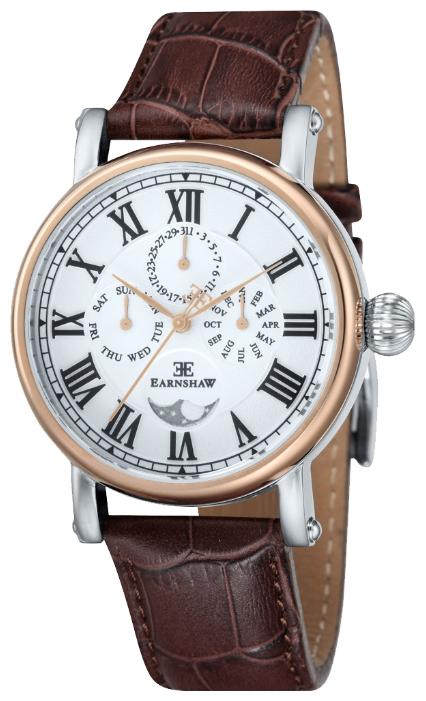 Thomas Earnshaw ES-8031-03 - мужские наручные часы из коллекции MaskelyneThomas Earnshaw<br><br><br>Бренд: Thomas Earnshaw<br>Модель: Thomas Earnshaw ES-8031-03<br>Артикул: ES-8031-03<br>Вариант артикула: None<br>Коллекция: Maskelyne<br>Подколлекция: None<br>Страна: Великобритания<br>Пол: мужские<br>Тип механизма: кварцевые<br>Механизм: None<br>Количество камней: None<br>Автоподзавод: None<br>Источник энергии: от батарейки<br>Срок службы элемента питания: None<br>Дисплей: стрелки<br>Цифры: римские<br>Водозащита: WR 50<br>Противоударные: None<br>Материал корпуса: нерж. сталь, IP покрытие (частичное)<br>Материал браслета: кожа<br>Материал безеля: None<br>Стекло: минеральное<br>Антибликовое покрытие: None<br>Цвет корпуса: None<br>Цвет браслета: None<br>Цвет циферблата: None<br>Цвет безеля: None<br>Размеры: 42 мм<br>Диаметр: None<br>Диаметр корпуса: None<br>Толщина: None<br>Ширина ремешка: None<br>Вес: None<br>Спорт-функции: None<br>Подсветка: None<br>Вставка: None<br>Отображение даты: число, месяц, день недели<br>Хронограф: None<br>Таймер: None<br>Термометр: None<br>Хронометр: None<br>GPS: None<br>Радиосинхронизация: None<br>Барометр: None<br>Скелетон: None<br>Дополнительная информация: None<br>Дополнительные функции: указатель фаз луны