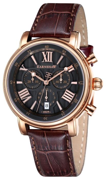 Thomas Earnshaw ES-0016-04 - мужские наручные часы из коллекции LongcaseThomas Earnshaw<br><br><br>Бренд: Thomas Earnshaw<br>Модель: Thomas Earnshaw ES-0016-04<br>Артикул: ES-0016-04<br>Вариант артикула: None<br>Коллекция: Longcase<br>Подколлекция: None<br>Страна: Великобритания<br>Пол: мужские<br>Тип механизма: кварцевые<br>Механизм: None<br>Количество камней: None<br>Автоподзавод: None<br>Источник энергии: от батарейки<br>Срок службы элемента питания: None<br>Дисплей: стрелки<br>Цифры: римские<br>Водозащита: WR 50<br>Противоударные: None<br>Материал корпуса: нерж. сталь, полное покрытие корпуса<br>Материал браслета: кожа<br>Материал безеля: None<br>Стекло: минеральное<br>Антибликовое покрытие: None<br>Цвет корпуса: None<br>Цвет браслета: None<br>Цвет циферблата: None<br>Цвет безеля: None<br>Размеры: 43 мм<br>Диаметр: None<br>Диаметр корпуса: None<br>Толщина: None<br>Ширина ремешка: None<br>Вес: None<br>Спорт-функции: секундомер<br>Подсветка: стрелок<br>Вставка: None<br>Отображение даты: число<br>Хронограф: есть<br>Таймер: None<br>Термометр: None<br>Хронометр: None<br>GPS: None<br>Радиосинхронизация: None<br>Барометр: None<br>Скелетон: None<br>Дополнительная информация: None<br>Дополнительные функции: None