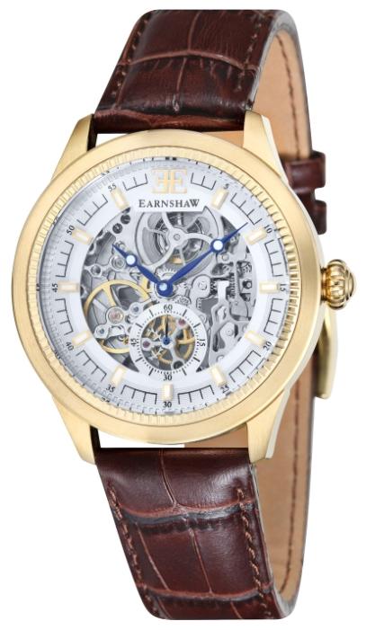 Thomas Earnshaw ES-8039-03 - мужские наручные часы из коллекции AcademyThomas Earnshaw<br><br><br>Бренд: Thomas Earnshaw<br>Модель: Thomas Earnshaw ES-8039-03<br>Артикул: ES-8039-03<br>Вариант артикула: None<br>Коллекция: Academy<br>Подколлекция: None<br>Страна: Великобритания<br>Пол: мужские<br>Тип механизма: механические<br>Механизм: None<br>Количество камней: None<br>Автоподзавод: None<br>Источник энергии: пружинный механизм<br>Срок службы элемента питания: None<br>Дисплей: стрелки<br>Цифры: отсутствуют<br>Водозащита: WR 50<br>Противоударные: None<br>Материал корпуса: нерж. сталь, полное покрытие корпуса<br>Материал браслета: кожа<br>Материал безеля: None<br>Стекло: минеральное/сапфировое<br>Антибликовое покрытие: None<br>Цвет корпуса: None<br>Цвет браслета: None<br>Цвет циферблата: None<br>Цвет безеля: None<br>Размеры: 40 мм<br>Диаметр: None<br>Диаметр корпуса: None<br>Толщина: None<br>Ширина ремешка: None<br>Вес: None<br>Спорт-функции: None<br>Подсветка: None<br>Вставка: None<br>Отображение даты: None<br>Хронограф: None<br>Таймер: None<br>Термометр: None<br>Хронометр: None<br>GPS: None<br>Радиосинхронизация: None<br>Барометр: None<br>Скелетон: да<br>Дополнительная информация: None<br>Дополнительные функции: None