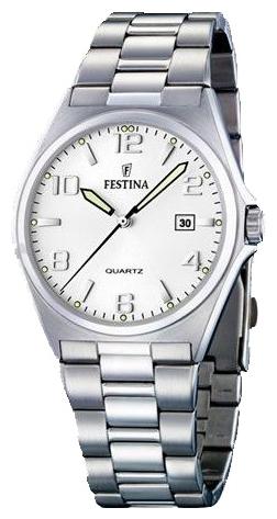 Festina F16374.5 - мужские наручные часы из коллекции ClassicFestina<br><br><br>Бренд: Festina<br>Модель: Festina F16374/5<br>Артикул: F16374.5<br>Вариант артикула: None<br>Коллекция: Classic<br>Подколлекция: None<br>Страна: Испания<br>Пол: мужские<br>Тип механизма: кварцевые<br>Механизм: M1M12<br>Количество камней: None<br>Автоподзавод: None<br>Источник энергии: от батарейки<br>Срок службы элемента питания: None<br>Дисплей: стрелки<br>Цифры: арабские<br>Водозащита: WR 50<br>Противоударные: None<br>Материал корпуса: нерж. сталь<br>Материал браслета: не указан<br>Материал безеля: None<br>Стекло: минеральное<br>Антибликовое покрытие: None<br>Цвет корпуса: None<br>Цвет браслета: None<br>Цвет циферблата: None<br>Цвет безеля: None<br>Размеры: 40x40 мм<br>Диаметр: None<br>Диаметр корпуса: None<br>Толщина: None<br>Ширина ремешка: None<br>Вес: None<br>Спорт-функции: None<br>Подсветка: стрелок<br>Вставка: None<br>Отображение даты: число<br>Хронограф: None<br>Таймер: None<br>Термометр: None<br>Хронометр: None<br>GPS: None<br>Радиосинхронизация: None<br>Барометр: None<br>Скелетон: None<br>Дополнительная информация: None<br>Дополнительные функции: None