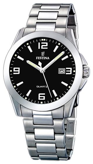 Festina F16376.4 - мужские наручные часы из коллекции ClassicFestina<br><br><br>Бренд: Festina<br>Модель: Festina F16376/4<br>Артикул: F16376.4<br>Вариант артикула: None<br>Коллекция: Classic<br>Подколлекция: None<br>Страна: Испания<br>Пол: мужские<br>Тип механизма: кварцевые<br>Механизм: M2115<br>Количество камней: None<br>Автоподзавод: None<br>Источник энергии: от батарейки<br>Срок службы элемента питания: None<br>Дисплей: стрелки<br>Цифры: арабские<br>Водозащита: WR 50<br>Противоударные: None<br>Материал корпуса: нерж. сталь<br>Материал браслета: не указан<br>Материал безеля: None<br>Стекло: минеральное<br>Антибликовое покрытие: None<br>Цвет корпуса: None<br>Цвет браслета: None<br>Цвет циферблата: None<br>Цвет безеля: None<br>Размеры: 40x40 мм<br>Диаметр: None<br>Диаметр корпуса: None<br>Толщина: None<br>Ширина ремешка: None<br>Вес: None<br>Спорт-функции: None<br>Подсветка: стрелок<br>Вставка: None<br>Отображение даты: число<br>Хронограф: None<br>Таймер: None<br>Термометр: None<br>Хронометр: None<br>GPS: None<br>Радиосинхронизация: None<br>Барометр: None<br>Скелетон: None<br>Дополнительная информация: None<br>Дополнительные функции: None