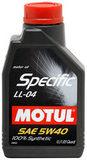 MOTUL SPECIFIС BMW LL-04 (5W-40) - 100% синтетическое BMW LL-04 для BMW и Mini