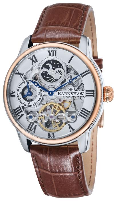 Thomas Earnshaw ES-8006-08 - мужские наручные часы из коллекции LongitudeThomas Earnshaw<br><br><br>Бренд: Thomas Earnshaw<br>Модель: Thomas Earnshaw ES-8006-08<br>Артикул: ES-8006-08<br>Вариант артикула: None<br>Коллекция: Longitude<br>Подколлекция: None<br>Страна: Великобритания<br>Пол: мужские<br>Тип механизма: механические<br>Механизм: None<br>Количество камней: None<br>Автоподзавод: None<br>Источник энергии: пружинный механизм<br>Срок службы элемента питания: None<br>Дисплей: стрелки<br>Цифры: римские<br>Водозащита: WR 50<br>Противоударные: None<br>Материал корпуса: нерж. сталь, частичное покрытие корпуса<br>Материал браслета: кожа<br>Материал безеля: None<br>Стекло: минеральное/сапфировое<br>Антибликовое покрытие: None<br>Цвет корпуса: None<br>Цвет браслета: None<br>Цвет циферблата: None<br>Цвет безеля: None<br>Размеры: 44 мм<br>Диаметр: None<br>Диаметр корпуса: None<br>Толщина: None<br>Ширина ремешка: None<br>Вес: None<br>Спорт-функции: None<br>Подсветка: None<br>Вставка: None<br>Отображение даты: None<br>Хронограф: None<br>Таймер: None<br>Термометр: None<br>Хронометр: None<br>GPS: None<br>Радиосинхронизация: None<br>Барометр: None<br>Скелетон: да<br>Дополнительная информация: индикатор день/ночь<br>Дополнительные функции: второй часовой пояс