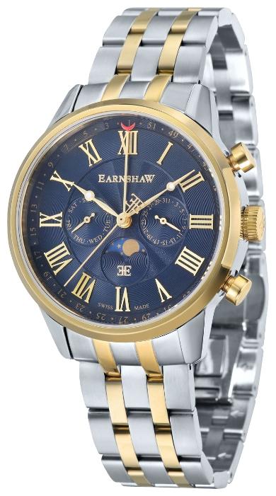 Thomas Earnshaw ES-0017-77 - мужские наручные часы из коллекции OfficerThomas Earnshaw<br><br><br>Бренд: Thomas Earnshaw<br>Модель: Thomas Earnshaw ES-0017-77<br>Артикул: ES-0017-77<br>Вариант артикула: None<br>Коллекция: Officer<br>Подколлекция: None<br>Страна: Великобритания<br>Пол: мужские<br>Тип механизма: кварцевые<br>Механизм: None<br>Количество камней: None<br>Автоподзавод: None<br>Источник энергии: от батарейки<br>Срок службы элемента питания: None<br>Дисплей: стрелки<br>Цифры: римские<br>Водозащита: WR 50<br>Противоударные: None<br>Материал корпуса: нерж. сталь, частичное покрытие корпуса<br>Материал браслета: нерж. сталь, частичное дополнительное покрытие<br>Материал безеля: None<br>Стекло: минеральное<br>Антибликовое покрытие: None<br>Цвет корпуса: None<br>Цвет браслета: None<br>Цвет циферблата: None<br>Цвет безеля: None<br>Размеры: 41 мм<br>Диаметр: None<br>Диаметр корпуса: None<br>Толщина: None<br>Ширина ремешка: None<br>Вес: None<br>Спорт-функции: None<br>Подсветка: стрелок<br>Вставка: None<br>Отображение даты: число, день недели<br>Хронограф: None<br>Таймер: None<br>Термометр: None<br>Хронометр: None<br>GPS: None<br>Радиосинхронизация: None<br>Барометр: None<br>Скелетон: None<br>Дополнительная информация: None<br>Дополнительные функции: указатель фаз луны