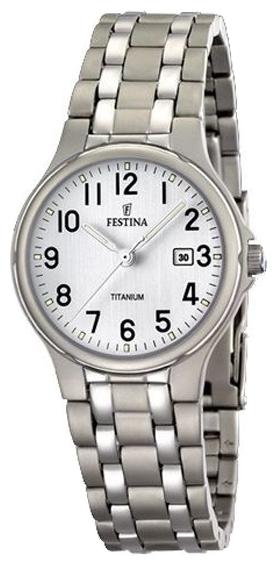 Festina F16460.1 - мужские наручные часы из коллекции ClassicFestina<br><br><br>Бренд: Festina<br>Модель: Festina F16460/1<br>Артикул: F16460.1<br>Вариант артикула: None<br>Коллекция: Classic<br>Подколлекция: None<br>Страна: Испания<br>Пол: мужские<br>Тип механизма: кварцевые<br>Механизм: None<br>Количество камней: None<br>Автоподзавод: None<br>Источник энергии: от батарейки<br>Срок службы элемента питания: None<br>Дисплей: стрелки<br>Цифры: арабские<br>Водозащита: WR 50<br>Противоударные: None<br>Материал корпуса: титан<br>Материал браслета: не указан<br>Материал безеля: None<br>Стекло: минеральное<br>Антибликовое покрытие: None<br>Цвет корпуса: None<br>Цвет браслета: None<br>Цвет циферблата: None<br>Цвет безеля: None<br>Размеры: 37x37x7.5 мм<br>Диаметр: None<br>Диаметр корпуса: None<br>Толщина: None<br>Ширина ремешка: None<br>Вес: None<br>Спорт-функции: None<br>Подсветка: стрелок<br>Вставка: None<br>Отображение даты: число<br>Хронограф: None<br>Таймер: None<br>Термометр: None<br>Хронометр: None<br>GPS: None<br>Радиосинхронизация: None<br>Барометр: None<br>Скелетон: None<br>Дополнительная информация: None<br>Дополнительные функции: None