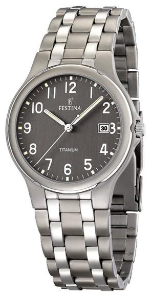 Festina F16460.2 - мужские наручные часы из коллекции ClassicFestina<br><br><br>Бренд: Festina<br>Модель: Festina F16460/2<br>Артикул: F16460.2<br>Вариант артикула: None<br>Коллекция: Classic<br>Подколлекция: None<br>Страна: Испания<br>Пол: мужские<br>Тип механизма: кварцевые<br>Механизм: None<br>Количество камней: None<br>Автоподзавод: None<br>Источник энергии: от батарейки<br>Срок службы элемента питания: None<br>Дисплей: стрелки<br>Цифры: арабские<br>Водозащита: WR 50<br>Противоударные: None<br>Материал корпуса: титан<br>Материал браслета: не указан<br>Материал безеля: None<br>Стекло: минеральное<br>Антибликовое покрытие: None<br>Цвет корпуса: None<br>Цвет браслета: None<br>Цвет циферблата: None<br>Цвет безеля: None<br>Размеры: 37x37x7.5 мм<br>Диаметр: None<br>Диаметр корпуса: None<br>Толщина: None<br>Ширина ремешка: None<br>Вес: None<br>Спорт-функции: None<br>Подсветка: стрелок<br>Вставка: None<br>Отображение даты: число<br>Хронограф: None<br>Таймер: None<br>Термометр: None<br>Хронометр: None<br>GPS: None<br>Радиосинхронизация: None<br>Барометр: None<br>Скелетон: None<br>Дополнительная информация: None<br>Дополнительные функции: None