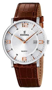 Festina F16476.4 - мужские наручные часы из коллекции ClassicFestina<br><br><br>Бренд: Festina<br>Модель: Festina F16476/4<br>Артикул: F16476.4<br>Вариант артикула: None<br>Коллекция: Classic<br>Подколлекция: None<br>Страна: Испания<br>Пол: мужские<br>Тип механизма: кварцевые<br>Механизм: None<br>Количество камней: None<br>Автоподзавод: None<br>Источник энергии: от батарейки<br>Срок службы элемента питания: None<br>Дисплей: стрелки<br>Цифры: арабские<br>Водозащита: WR 30<br>Противоударные: None<br>Материал корпуса: нерж. сталь<br>Материал браслета: кожа<br>Материал безеля: None<br>Стекло: минеральное<br>Антибликовое покрытие: None<br>Цвет корпуса: None<br>Цвет браслета: None<br>Цвет циферблата: None<br>Цвет безеля: None<br>Размеры: None<br>Диаметр: None<br>Диаметр корпуса: None<br>Толщина: None<br>Ширина ремешка: None<br>Вес: None<br>Спорт-функции: None<br>Подсветка: None<br>Вставка: None<br>Отображение даты: число<br>Хронограф: None<br>Таймер: None<br>Термометр: None<br>Хронометр: None<br>GPS: None<br>Радиосинхронизация: None<br>Барометр: None<br>Скелетон: None<br>Дополнительная информация: None<br>Дополнительные функции: None