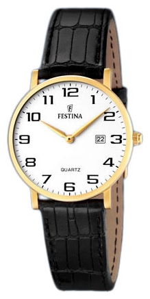 Festina F16479.1 - женские наручные часы из коллекции ClassicFestina<br><br><br>Бренд: Festina<br>Модель: Festina F16479/1<br>Артикул: F16479.1<br>Вариант артикула: None<br>Коллекция: Classic<br>Подколлекция: None<br>Страна: Испания<br>Пол: женские<br>Тип механизма: кварцевые<br>Механизм: None<br>Количество камней: None<br>Автоподзавод: None<br>Источник энергии: от батарейки<br>Срок службы элемента питания: None<br>Дисплей: стрелки<br>Цифры: арабские<br>Водозащита: WR 30<br>Противоударные: None<br>Материал корпуса: нерж. сталь, покрытие: позолота<br>Материал браслета: кожа<br>Материал безеля: None<br>Стекло: минеральное<br>Антибликовое покрытие: None<br>Цвет корпуса: None<br>Цвет браслета: None<br>Цвет циферблата: None<br>Цвет безеля: None<br>Размеры: None<br>Диаметр: None<br>Диаметр корпуса: None<br>Толщина: None<br>Ширина ремешка: None<br>Вес: None<br>Спорт-функции: None<br>Подсветка: None<br>Вставка: None<br>Отображение даты: число<br>Хронограф: None<br>Таймер: None<br>Термометр: None<br>Хронометр: None<br>GPS: None<br>Радиосинхронизация: None<br>Барометр: None<br>Скелетон: None<br>Дополнительная информация: None<br>Дополнительные функции: None